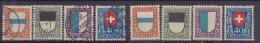 SUISSE, 1924,PRO JUVENTUTE, N° 214/217, Oblitéré +  Neuf**, Sauf 216*  (1524/73) - Gebraucht