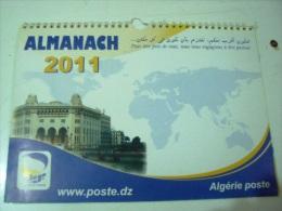 Almanach 2011- Algerie Poste- DZ. - Calendriers