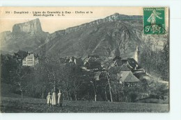 CLELLES - Vue Générale Et Le Mont Aiguille - 2 Scans - Clelles
