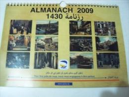 Almanach 2009- Algerie Poste- DZ. - Calendriers