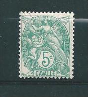 Colonies Francaise  Timbres De Cavalle De 1902/11  N°10  Neuf * - Neufs