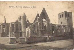 NIJLEN:  De Kerk (uitgebrand In  1914) - Nijlen