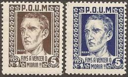 ESPAÑA - GUERRA CIVIL - Vignetten Van De Burgeroorlog