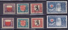 SUISSE, 1928,PRO JUVENTUTE, N° 231/234, Oblitéré +  Neuf**, Sauf 231*  (1524/77) - Gebraucht