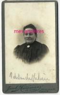 CDV  Portrait D´Adélaïde Mahieu-photo Jacob Huisman Dit Elkan Rue De Lille à Croix - Antiche (ante 1900)