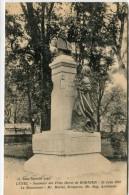 CPA 34  LUNEL SOUVENIR DES FETES HENRI DE BORNIER 23 JUIN 1912 LE MONUMENT - Lunel