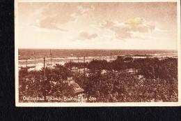 AK Ansichtskarte Vom Ostseebad Ahlbeck Mit Blick Auf Die See Vom 7.8.28 - Deutschland