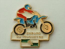 PIN´S MOTO -  ENDURO DU TOUQUET 92 - Motorbikes