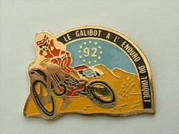 PIN´S MOTO -  ENDURO DU TOUQUET 92 - LE GALIBOT - Motorbikes