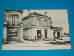 33 ) Astignan - N° 3 - Place De La Croix  - Année 1917 - EDIT : M.D - France