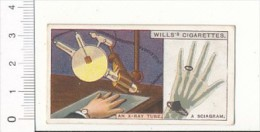 Do You Know ? An X-Ray Tube - A Sciagram / X-rays Crookes Tube / Rayons X Radiographie / IM 39/2-Wills - Wills