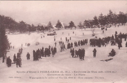 Carte Postale Ancienne - Montagne - Alpinisme - Sports D'hiver à Peira-Cava - Concours De Skis - Alpinisme