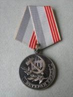 Soviet Union Sowjetunion Order Medal Veteran Truda Arbeits Veteran - Russia