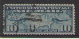 STATI UNITI D'AMERICA POSTA AEREA 1926-27 NUOVE TARIFFE UNIF. 7 USATO VF - 1a. 1918-1940 Usati