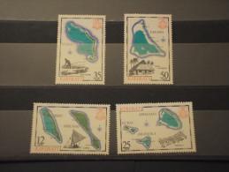 KIRIBATI - 1981 ISOLE 4 Valori - NUOVI(++) - Kiribati (1979-...)