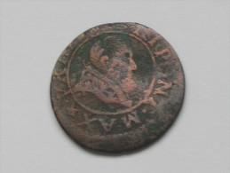 Double Tournois  à Identifier  ***** EN ACHAT IMMEDIAT ***** - 1610-1643 Louis XIII Le Juste
