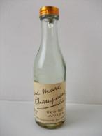 - Ancienne Mignonnette VIEUX MARC DE CHAMPAGNE - - Mignonnettes