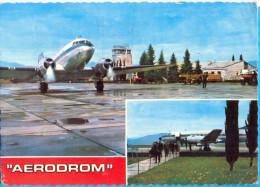 EX.YU. Montenegro.Titograd. The Aerodrom. - Aeródromos