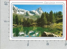 CARTOLINA VG ITALIA - BREUIL CERVINIA (AO) - Il Lago Blu E Il Cervino - 10 X 15 - ANN. 2006 - Andere Städte