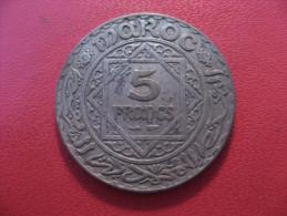 Maroc - 5 Francs 1352 Empire Chérifien 4843 - Marruecos
