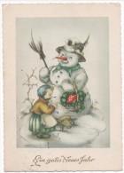 """FABIG -DISTLING, LIESELOTTE    -  """" EIN GUTES NEUES JAHR """"   ~ 1950 - Illustrators & Photographers"""