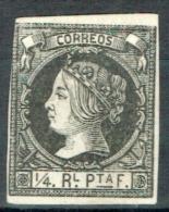 Spanisch-Westindien 1862 Michel N° 12 MH Ohne Gummi - Cuba