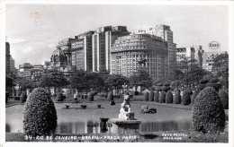 RIO DE JANEIRO - BRASIL - PRAGA PARIS, Gel.1960, 2 Marken - Rio De Janeiro
