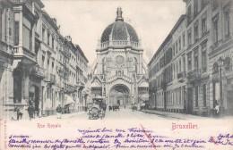 Rue Royale - Bruxelles - 1902 ! - Lanen, Boulevards