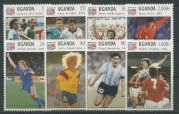Uganda 1994 Fußball-WM USA 1248/55 Postfrisch - Uganda (1962-...)
