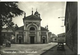 Venegono Superiore (Varese, Lombardia) Chiesa Parrocchiale, Facciata E Piazza Antistante - Varese