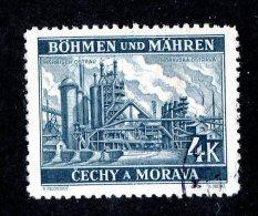 14210 - Bohemia & Moravia 1939  Michel # 34c ( Cat. €.50 ) - Gebraucht