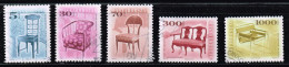 Ungarn 2000/01/06, Michel#  O Designmöbel - Ungarn