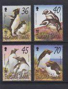 Falkland 2002 - Faune En Danger, Pingouins Wwf  - 4v *** (MNH) - Falkland
