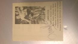 Graczyck  Graczick Graczyk Autographe Sur Coupure De Journal - Cyclisme