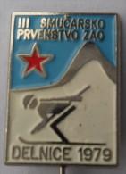 BIATHLON - Delnice 79. ( Croatie ) * Skiing Ski Esqui Schilauf Skilauf Ski Alpin Sci Sport Pin Sports Pins * Shootin   C - Biathlon