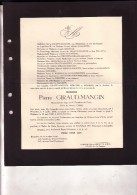 40-45 BULTIA-NALINNES Pierre GIRAUD-MANGIN IIe Escadron Du Train Français 1906 - 16 Mai 1940 Faire-part Décès - Overlijden