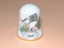 Dé A Coudre En Porcelaine - SAMOENS - B13 - Dés à Coudre
