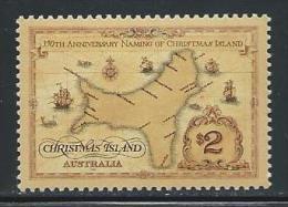 """Christmas Islands    """"Map""""     Set   SC# 357   MNH** - Christmas Island"""