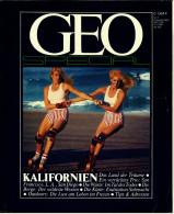 Geo Magazin Spezial  -  Kalifornien  -  Nr. 7 / 1983  -  Das Land Der Träume  -  Ins Tal Des Todes - Reise & Fun