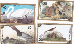 Mongolia 1986 North American Birds MNH - Birds