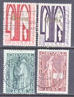 BELGIUM  B 69-72   (o) - Used Stamps
