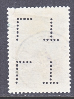 BELGIUM  B 81   (o) - Lochung