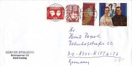 Brief 1992 (?) Nach Deutschland (q043) - Dänemark