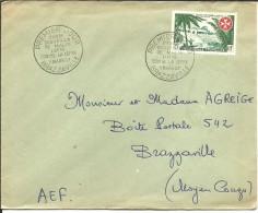 FDC 1957 - A.E.F. (1936-1958)