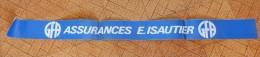 Autocollant Années 80 Pare Soleil Gfa Assurances E Isautier Ile De La Réunion - Autocollants