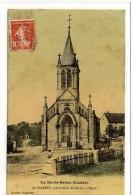 Carte Postale Ancienne Saint Valbert - L'Eglise - France