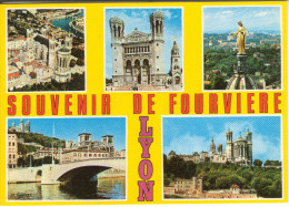69A065A/F CPM GF 69 - LYON LOT 4  CARTES DE FOURVIERES - Lyon
