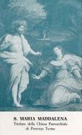 BOLOGNA-PORRETTA TERME-S.MARIA MADDALENA-CHIESA PARROCCHIALE-TIPOGRAFIA VIVARELLI - Devotion Images