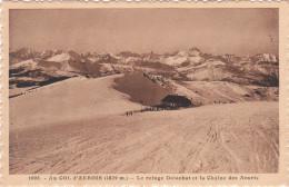 Carte Postale Ancienne - Montagne - Alpinisme - Au Col D'Arbois - Le Refuge Delachat Et La Chaîne Des Aravis - Alpinisme