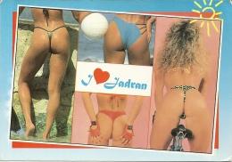 I LOVE JADRAN  Pin-up Side B Tanga  Hrvatska Croatia Nice Stamp - Pin-Ups